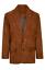 miniatuur 1 - Men's Brown Suede Blazer
