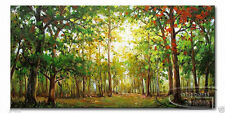 (No Framed)MODERN ABSTRACT CANVAS ART WALL DECOR OIL PAINTING-TREE