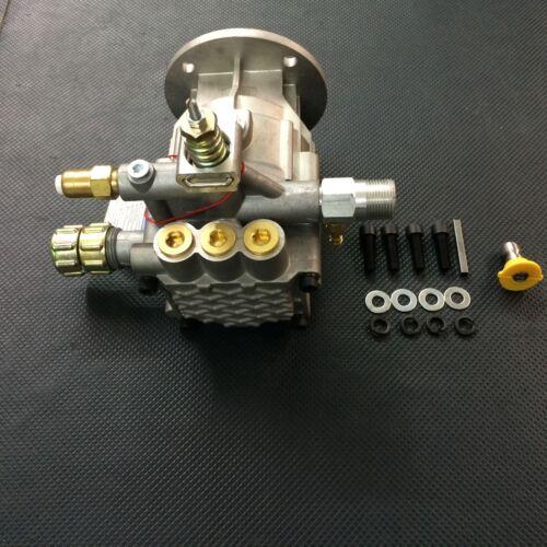 Mount kit Pressure Washer Horizontal Pump 2900 psi 2.2 GPM Fits Most 3//4 Shaft