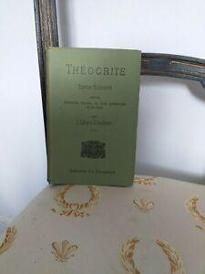 Litterature-grecque-ancienne-Theocrite-L-Laloy-amp-J-Luchaire-1940