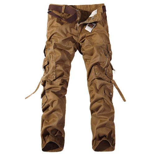 Combat Escursionismo Campeggio Pantaloni Army Cargo uomo mimetici Casual militari da Pantaloni q6wtB1w