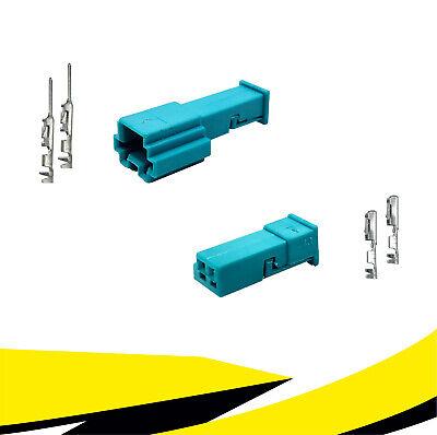 61132359999 für BMW MQS Kontakt Stecker 2-polig Reparatursatz zu 61138365340
