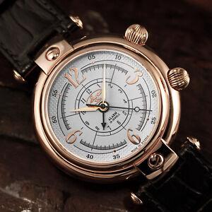 BURAN-V-M-2612-4299248-Wecker-russische-mechanische-Uhr-Alarm-Armbandwecker
