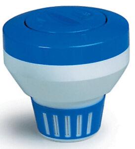 swimming pool 7 floating chemical dispenser floater 1 3 chlorine tablet tabs ebay