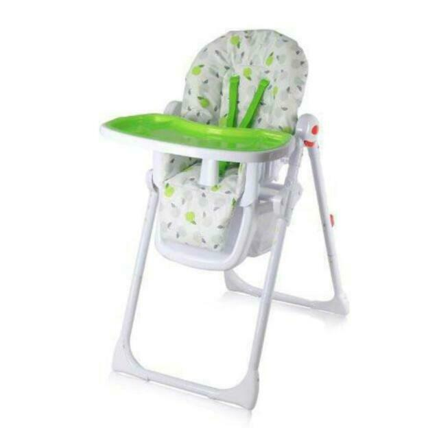 Isafe Mama Highchair Apples Recline Compact Padded Baby High Low