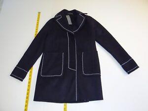 Xxsp Uld Blue Ann Ny Blend Petite Kvinders Navy Winter Xxs Coat Taylor Nwt nSnFU84p