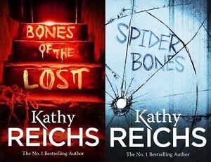 Kathy-Reichs-2-Livre-Ensemble-Tout-Neuf-Livraison-Gratuite-Ru