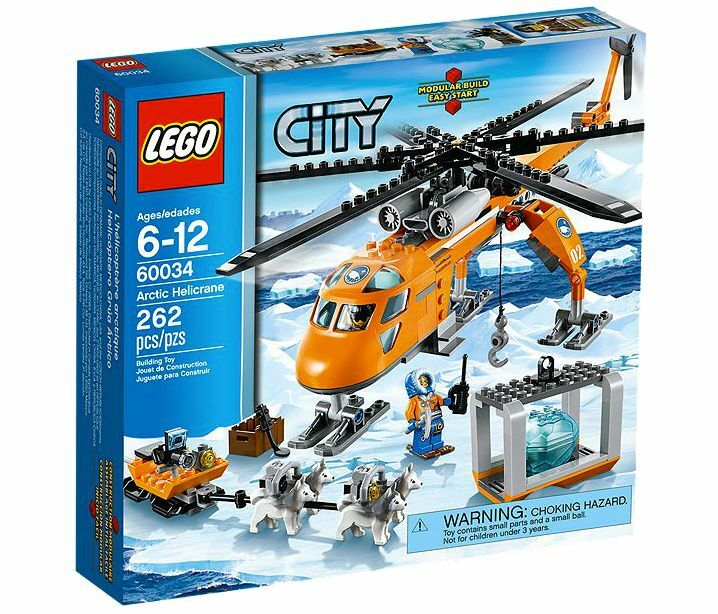 LEGO® City 60034 Arctic Helicrane NEU OVP NEW MISB NRFB 60032 60036 60035