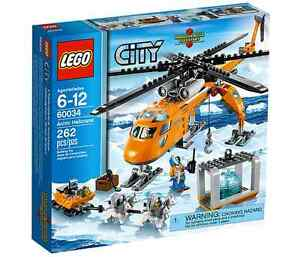 LEGO-City-60034-Arctic-Helicrane-NEU-OVP-NEW-MISB-NRFB-60032-60036-60035