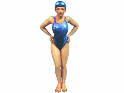 Aurora Model 1/32 figures Swimmer Girl Modern Female 1/35 Metal kit SK-010