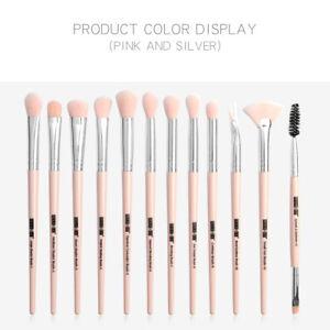 Eyebrow-Eyeliner-Eyeshadow-Blending-12PCS-Professional-Eye-Makeup-Brushes-Set