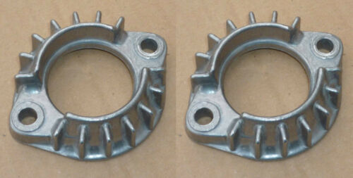 PAIR --- JAWA 350 DESKS FLANGES NEW EXHAUST PIPES 638,639,640