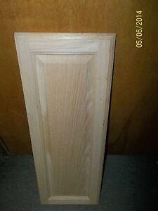 Genial Image Is Loading 2 LAZY SUSAN CABINET DOORS OAK RAISED PANEL