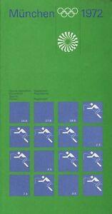 Otl Aicher Pin Olympia olympische Anstecknadel Olympiade 1972 München