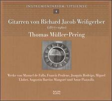 Les guitares de Richard Jacob Weißgerber Instrumentarium Liepsiense - Volum