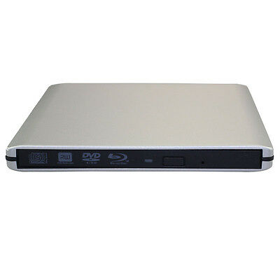 Latest USB 3.0 External Enclosure Case For 9.5mm SATA CD DVD RW Blu-ray Drive