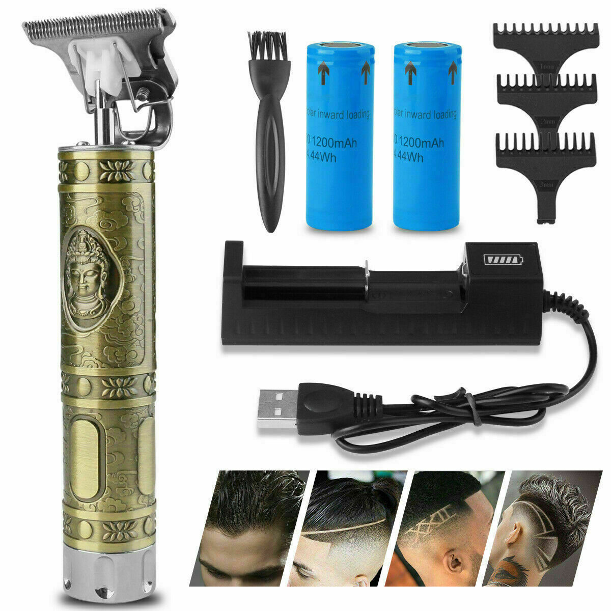 Image 121 - Genuine-KEMEI-1974a-Cordless-Hair-Clippers-Trimmer-Shaving-Cutting-Beard-Barber
