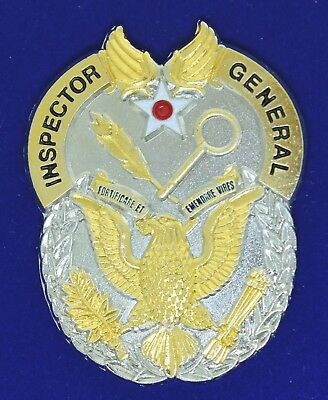 Air Intelligence Agency Inspector General Challenge Coin