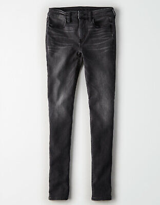 Women/'s American Eagle Outfitters Hi-Rise Jegging Smokey Cinders Sz 2 X-Long NWT