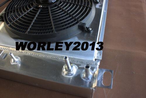 fan for Silverado 1500 2500 3500 4.8 5.3 6.0 V8 shroud Aluminum radiator
