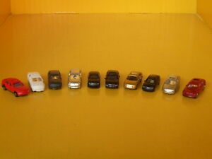 Automobili-macchinine-plastico-ferroviario-o-diorama-scala-1-200-pz-10-Krea