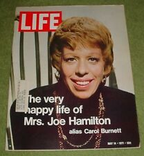 LIFE MAGAZINE MAY 14 1971 CAROL BURNETT BILL GRAHAM RYE NEW YORK