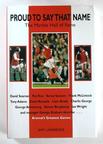 1 of 1 - PROUD TO SAY THAT NAME - The Marble Hall of Fame by Amy Lawrence (1997) - 1st Ed