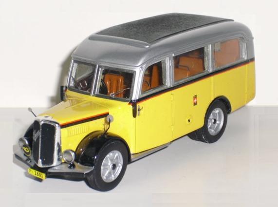 Saurer KC2 CBD Alpenwagen I P1601 1939 (Tek-Hoby 1 50   TH5351)