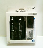 Black Nintendo Ds Case System Essentials Kit 8 Piece Kit Ds Lite Dsi Stylus