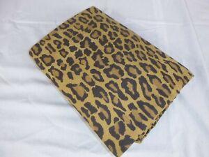NEW Ralph Lauren Aragon Leopard Print KING Flat Sheet 100% Cotton CRISP!