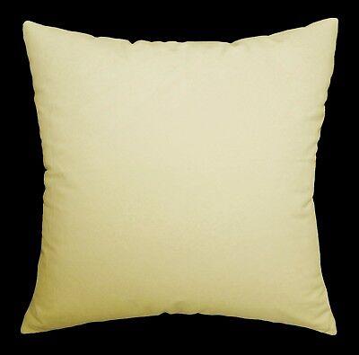Mf31a Nude Plain Smooth Silky Soft Velvet Cushion Cover//Pillow Case Custom Size