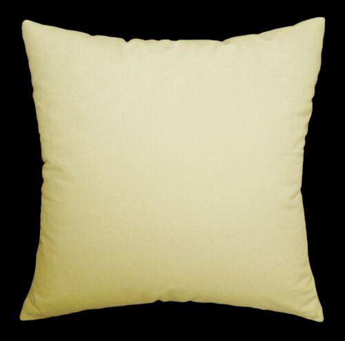 Mf30a Cream Beige Smooth Silky Soft Velvet Cushion Cover//Pillow Case Custom Size
