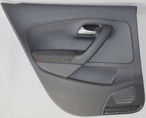 VW POLO 6R 4-Türig Türverkleidung links hinten Schwarz 6R6867211 Manuell FH.