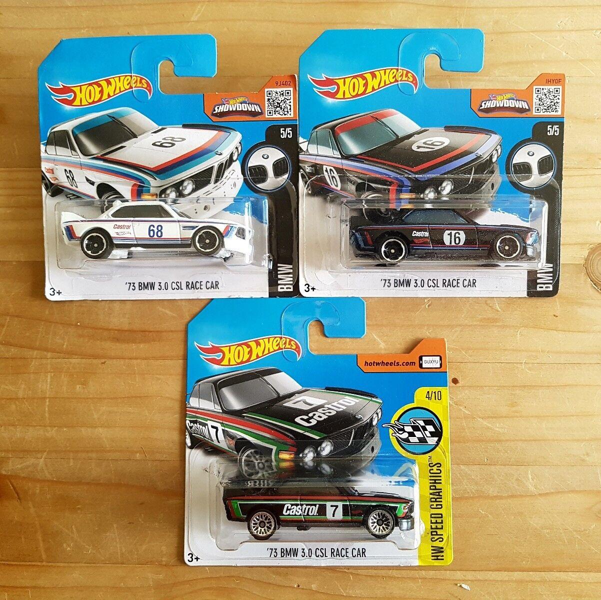 Hot Wheels BMW serie completamente. bmw m4 2002 z4 cada 9 modelos + Bonus CSL
