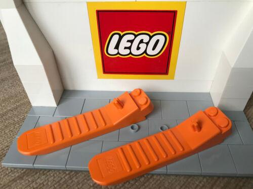ORANGE LEGO BRICK AND AXEL SEPARATOR TOOL X 2 96874