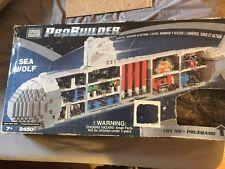 mega bloks probuilder Submarine Sea Wolf