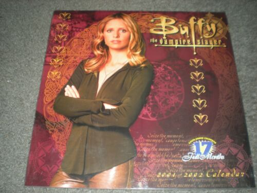 BUFFY THE VAMPIRE SLAYER - BRAND NEW & SEALED 2001/2002 CALENDAR - S.M. GELLAR