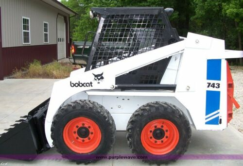 Bobcat Skid Steer 741,742,743 y 743DS Manual de taller enviado como una descarga