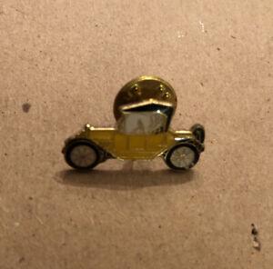 Lot Of (11) Yellow Antique Vintage Enamel Car Lapel Pins
