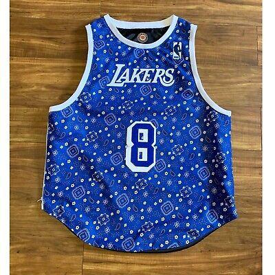 Los Angeles Lakers Kobe Bryant Blue Mamba Bandana Print Fabric NBA | eBay