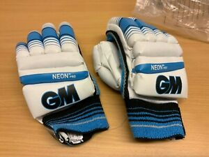 GUNN-AND-MOORE-NEON-PRO-CRICKET-BATTING-GLOVES-RIGHT-HAND-YOUTH-NEW