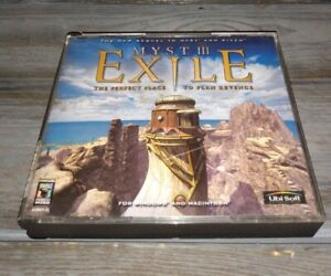 Myst III 3 Exile PC Game 2001 Tested execellent condition
