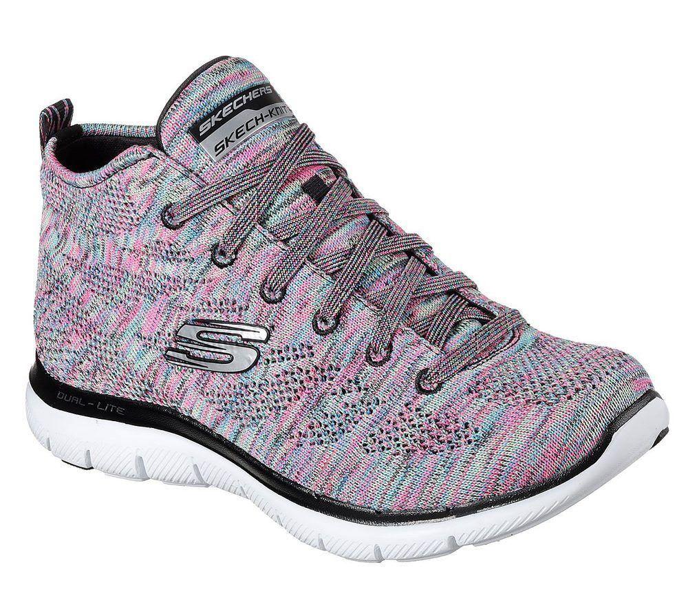 brand new 9d263 f2532 ... Nuevas Zapatillas Zapatillas De Mujer Skechers Flex Appeal 2.0 -  estratosfera Multi ADIDAS ORIGINALS ...