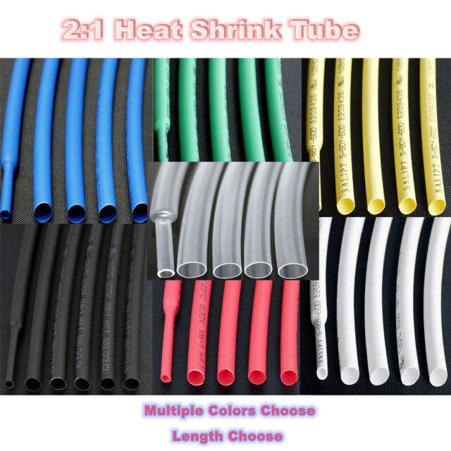 ALL SIZES /& LENGTHS PVC ELECTRICAL SLEEVING WIRE CABLE BLACK
