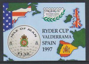 Isle-of-Man-1997-Golf-Ryder-Cup-sheet-MNH-SG-MS759
