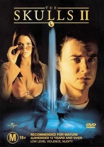 1 of 1 - The Skulls 02 DVD Ashley Lyn Cafagna Lindy Booth Nathan West Robin Dunne