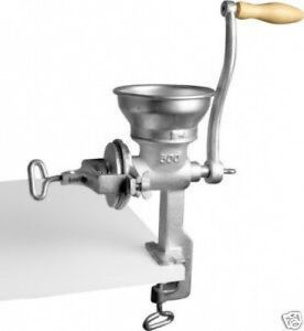 HAND-CRANK-OPERATED-GRAIN-IRON-CORN-COFFEE-FLOUR-GRINDING-GRINDER-MILL-MACHINE