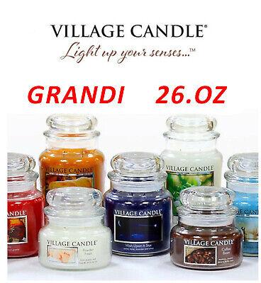 VILLAGE CANDLES CANDELE PROFUMATE 26OZ (B) | eBay