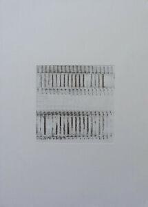 100% Vrai K. Villeneuve Composition Abstraite Mine De Plomb Sur Papier Vers 1970-80 (14) Facile à Utiliser
