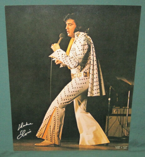 Elvis Presley All Star Shows Concert Poster Original 1972 11 x 14 Exc